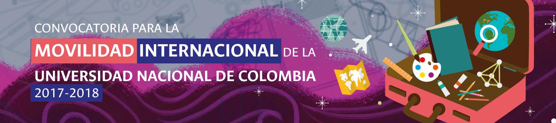 Abierta Convocatoria para la Movilidad Internacional de la Universidad Nacional de Colombia